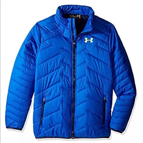 efabb96e11ba NWT Under Armour Boys Down Rector Jacket Youth Med
